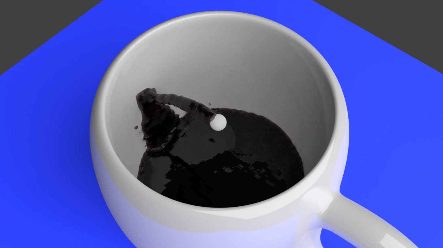 Pouring Moka 3D Animation i Blender - Jonathan